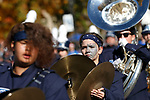 The Carson High School Blue Thunder Marching Band performs in the Nevada Day parade in Carson City, Nev., on Saturday, Oct. 26, 2019.  <br /> Photo by Cathleen Allison/Nevada Momentum