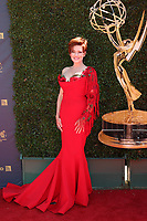 LOS ANGELES - APR 30:  Carolyn Hennesy at the 44th Daytime Emmy Awards - Arrivals at the Pasadena Civic Auditorium on April 30, 2017 in Pasadena, CA