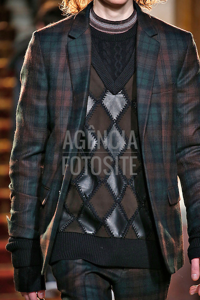 Pringle of Scotland<br /> <br /> Londres Masculino - Inverno 2016<br /> <br /> <br /> foto: FOTOSITE