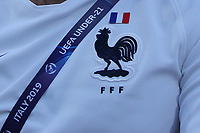 Symbol of France and UEFA Under 21 Championship Italy 2019<br /> Cesena 18-06-2019 Stadio Dino Manuzzi <br /> Football UEFA Under 21 Championship Italy 2019<br /> Group Stage - Final Tournament Group C<br /> England - France<br /> Photo Cesare Purini / Insidefoto