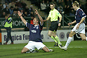 29/12/2007    Copyright Pic: James Stewart.File Name : sct_jspa10_falkirk_v_hearts.MICHAEL HIGDON CELEBRATES AFTER HE SCORES FALKIRK'S WINNER.James Stewart Photo Agency 19 Carronlea Drive, Falkirk. FK2 8DN      Vat Reg No. 607 6932 25.Office     : +44 (0)1324 570906     .Mobile   : +44 (0)7721 416997.Fax         : +44 (0)1324 570906.E-mail  :  jim@jspa.co.uk.If you require further information then contact Jim Stewart on any of the numbers above.........