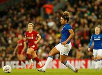 17th November 2019; Anfield, Liverpool, Merseyside, England; Womens Super League Footballl, Liverpool Women versus Everton; Gabrielle George of Everton - Editorial Use