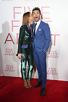 LOS ANGELES, CA - MARCH 7: Emily Baldoni, Justin Baldoni, at The Premiere Of Lionsgate's &quot;Five Feet Apart&quot; at The Fox Bruin Theatre in Los Angeles, California on March 7, 2019. <br /> CAP/MPI/SAD<br /> &copy;SAD/MPI/Capital Pictures