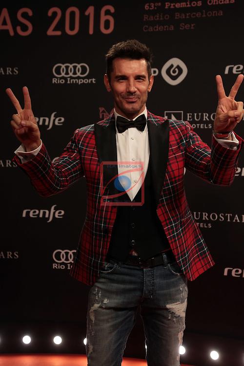 63 Premios Ondas.<br /> Photocall-Gala entrega de Premios.<br /> Jesus Vazquez.