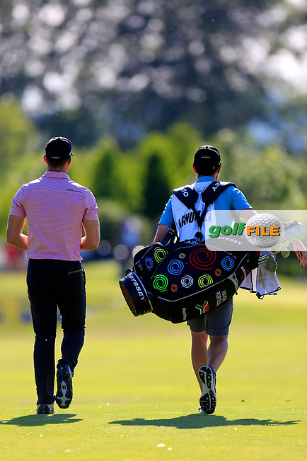 Haydn Porteous (RSA) during the first round of the Lyoness Open powered by Organic+ played at Diamond Country Club, Atzenbrugg, Austria. 8-11 June 2017.<br /> 08/06/2017.<br /> Picture: Golffile | Phil Inglis<br /> <br /> <br /> All photo usage must carry mandatory copyright credit (&copy; Golffile | Phil Inglis)