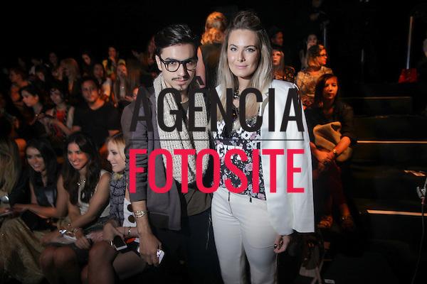 Jefferson Amaral e Ana Magalh&atilde;es  <br /> <br /> GIG Couture<br /> <br /> S&atilde;o Paulo Fashion Week- Ver&atilde;o 2016<br /> Abril/2015<br /> <br /> foto: Midori de Lucca/ Ag&ecirc;ncia Fotosite