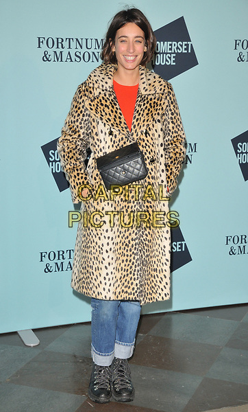 Laura Jackson at the Skate at Somerset House wtih Fortnum &amp; Mason VIP launch party, Somerset House, The Strand, London, England, UK, on Tuesday 14 November 2017.<br /> CAP/CAN<br /> &copy;CAN/Capital Pictures