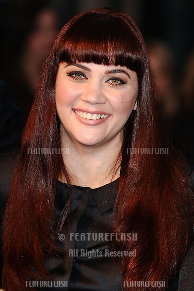 Shari Sebbens arriving for the London Film Festival screening of The Sapphires, at Odeon West End, London. 15/10/2012 Picture by: Steve Vas / Featureflash