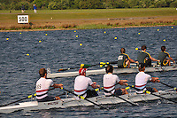 Wallingford Rowing Club Regatta 2011. Dorney..(J18A.4x-).Walton (389).Windsor Boys School - A (390)