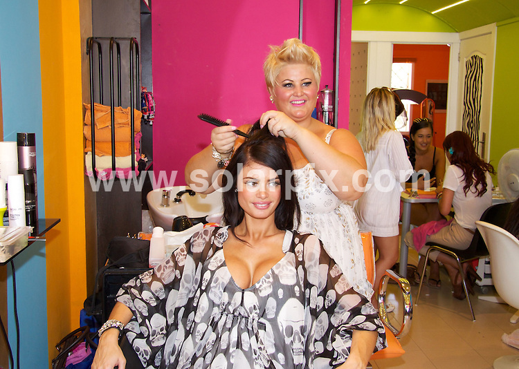 **ALL ROUND PICTURES FROM SOLARPIX.COM**                                 **WORLDWIDE SYNDICATION RIGHTS**                   TOWIE girls getting their hair done at Golden Tarts Beauty Salon near Marbella before going out on the town earlier in the week.                                                                           This pic:      Chloe Simms                                                                                     JOB REF:    13450   KBP       DATE:    01.06.11                                                         **MUST CREDIT SOLARPIX.COM OR DOUBLE FEE WILL BE CHARGED**                                                                        **MUST NOTIFY SOLARPIX OF ONLINE USAGE**                 **CALL US ON: +34 952 811 768 or LOW RATE FROM UK 0844 617 7637**