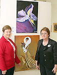 Artists Anne Matthews and Pat Rooney at the Opening of the Indigo Art Exhibion in the Laurence Centre...Photo NEWSFILE/Jenny Matthews.(Photo credit should read Jenny Matthews/NEWSFILE)....This Picture has been sent you under the condtions enclosed by:.Newsfile Ltd..The Studio,.Millmount Abbey,.Drogheda,.Co Meath..Ireland..Tel: +353(0)41-9871240.Fax: +353(0)41-9871260.GSM: +353(0)86-2500958.email: pictures@newsfile.ie.www.newsfile.ie.FTP: 193.120.102.198.