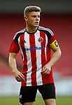 Regan Slater of Sheffield Utd during the Professional Development League play-off final match at Bramall Lane Stadium, Sheffield. Picture date: May 10th 2017. Pic credit should read: Simon Bellis/Sportimage