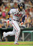 24 September 2010: Atlanta Braves outfielder Jason Heyward in action against the Washington Nationals at Nationals Park in Washington, DC. The Nationals defeated the Braves 8-3 to take the first game of their 3-game series. Mandatory Credit: Ed Wolfstein Photo