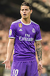 James Rodriguez of Real Madrid reacts during their La Liga match between Valencia CF and Real Madrid at the Estadio de Mestalla on 22 February 2017 in Valencia, Spain. Photo by Maria Jose Segovia Carmona / Power Sport Images
