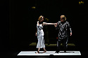 """EMBARGOED UNTIL 23:30 TUES 1ST OCTOBER, 2019. English National Opera presents """"Orpheus & Eurydice"""", by Christoph Gluck,  with libretto by Pierre-Louis Moline, version by Hector Berlioz, at the London Coliseum. Directed and choreographed by Wayne McGregor, with lighting design by Jon Clark, set design by Lizzie Clachan, costume design by Louise Gray, and video design by Ben Cullen Williams. Picture shows: Sarah Tynan (Eurydice), Alice Coote (Orpheus)"""