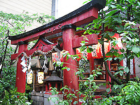 Japanese Red Temple