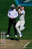 22nd March 2018, Eden Park, Auckland, New Zealand; International Test Cricket, New Zealand versus England, day 1;  Tim Southee