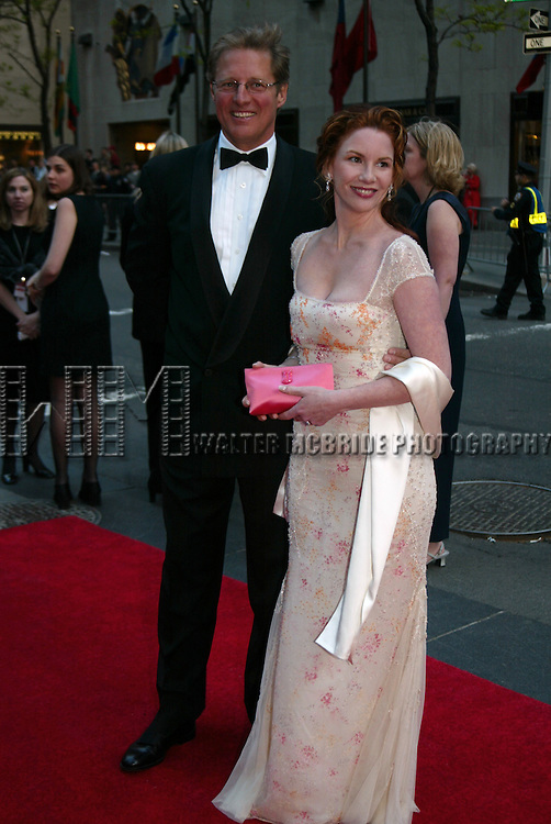 BRUCE BOXLEITNER and MELISSA GILBERT.NBC's 75th Anniversary Gala Celebration.Rockefeller Center, New York City.May 5, 2002.Credit All Uses.© Walter McBride / , USA