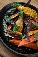Jennifer Russo's tri-color carrots with herbed butter and Arizona honey.