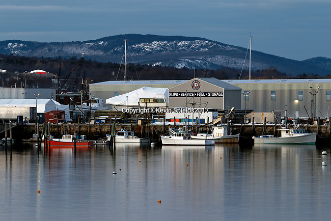 Journey's End Marina, Rockland, Maine, USA