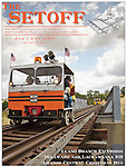 Published photography by Larry Angier..Cover and editorial photography, The Setoff railroad motorcar fan magazine