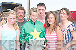 FINEDAY: Taking adavantage of the fine day at the Ballybunion Races on Sunday Front l-r: Morgan McCann (Listowel), Brian Cooper (Blennerville) and Shauna O'Connor (Ballybunion). Back l-r: Fergus O'Connor (Asdee), Brian O'Connor and Margaret O'Connor (Ballybunion).