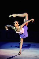"VIKTORIA MAZUR of Ukraine performs gala at 2011 World Cup Kiev, ""Deriugina Cup"" in Kiev, Ukraine on May 8, 2011."