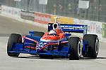 31 August 2007: Kosuke Matsuura (JPN) at the Detroit Belle Isle Grand Prix, Detroit, Michigan.
