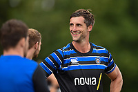 Luke Charteris of Bath Rugby looks on. Bath Rugby pre-season training on August 8, 2018 at Farleigh House in Bath, England. Photo by: Patrick Khachfe / Onside Images