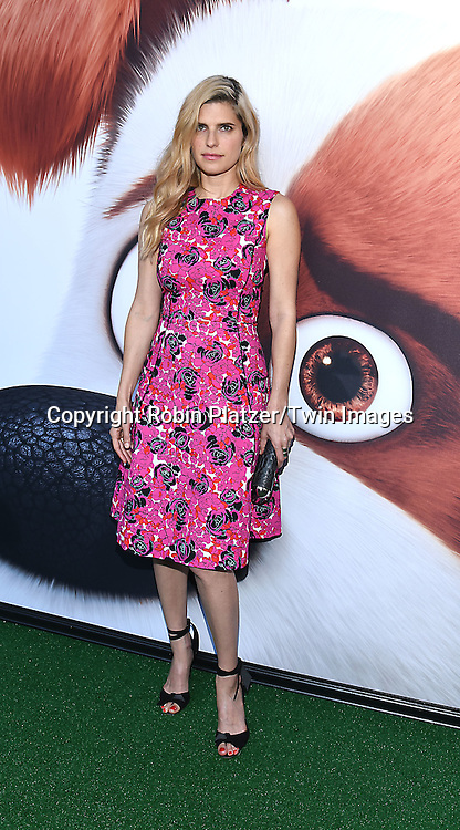 Lake Bell attends the New York Premiere of &quot;The Secret Life of Pets&quot; on June 25, 2016 at David H Koch Theater at Lincoln Center in New York, New York, USA. <br /> <br /> photo by Robin Platzer/Twin Images<br />  <br /> phone number 212-935-0770