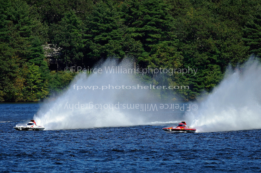 "Ken Brodie II, GP-50 ""Intensity""  and Burt Henderson, GP-777 ""The Crush"" (Grand Prix Hydroplane(s)"