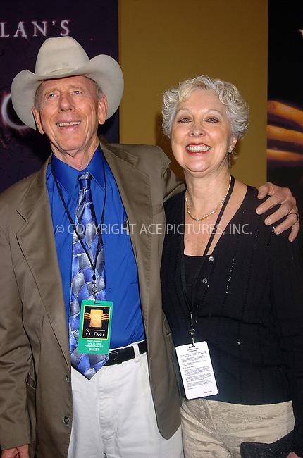 Rance Howard and Jean Speegle Howard at 'The Village' Premiere. New York, July 26, 2004. Please byline: AJ SOKALNER -- ACEPIXS.COM   .. *** ***..Ace Pictures, Inc:  ..Contact: Alecsey Boldeskul (646) 267-6913 ..Philip Vaughan (646) 769-0430..e-mail: info@acepixs.com