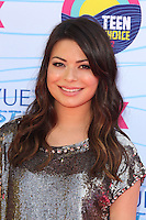 UNIVERSAL CITY, CA - JULY 22: Miranda Cosgrove at the 2012 Teen Choice Awards at Gibson Amphitheatre on July 22, 2012 in Universal City, California. &copy; mpi28/MediaPunch Inc. /NortePhoto.com*<br />