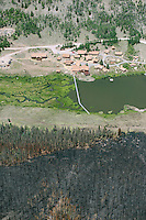 West Complex fire burn scar, Hinsdale county, Colorado.  Near South Lazy U Reservior.  July 2013.  80421
