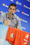 Getafe CF's Marketing Chief Alberto Heras during the new Premium Plus Partne, Libertex, official presentation. August 9, 2019. (ALTERPHOTOS/Acero)