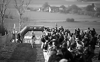 U23 World Champion Eli Yserbyt (BEL/U23/Marlux-Napoleon Games) leading the race<br /> <br /> 25th Koppenbergcross 2016