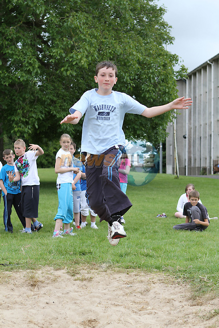 Colm Smith at the Greenhills Summer Camp...(Photo credit should read Jenny Matthews www.newsfile.ie)....This Picture has been sent you under the conditions enclosed by:.Newsfile Ltd..The Studio,.Millmount Abbey,.Drogheda,.Co Meath..Ireland..Tel: +353(0)41-9871240.Fax: +353(0)41-9871260.GSM: +353(0)86-2500958.email: pictures@newsfile.ie.www.newsfile.ie.