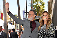 LOS ANGELES, CA. March 29, 2019: Tom Hanks & Rita Wilson at the Hollywood Walk of Fame Star Ceremony honoring actress Rita Wilson.<br /> Pictures: Paul Smith/Featureflash