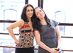 Natascia Diaz & Tamra Hayden.at the Actor's Fund Benefit Rehearsal for 'CHESS' on 7/20/2012 in New York City.  ***EXCLUSIVE***