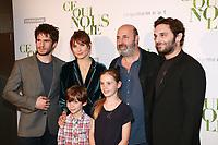 FRANCOIS CIVIL, ANA GIRARDOT avec ses deux enfants, CEDRIC KLAPISCH & PIO MARMAI - Avant-premiere du film CE QUI NOUS LIE au UGC Champs-Elysees