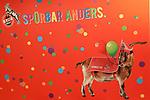 27. 02.2019, Maritim Hotel , Koeln,  GER, Karnevalssitzung des 1. FC Koeln , <br /> <br /> im Bild / picture shows: <br /> FC Banner im Eingang.. kanrevalistisch geschmückt.. <br /> <br /> Foto © nordphoto / Meuter