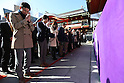 People visit Kanda Myojin Shrine in Tokyo for the new years