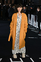 "Jasmine Helmsley<br /> arriving for the premiere of ""The White Crow"" at the Curzon Mayfair, London<br /> <br /> ©Ash Knotek  D3488  09/03/2019"