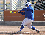 Western Nevada's Cara McCarthy bats during a college softball game against College of Southern Idaho in Carson City, Nev., on Friday, March 22, 2013..Photo by Cathleen Allison