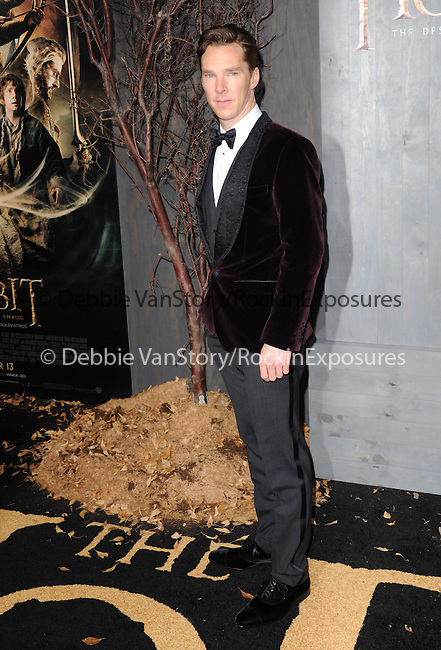 LOS ANGELES, CA - December 02: Benedict Cumberbatch arrives at The Warner Bros' Pictures L.A. Premiere of THE HOBBIT: THE DESOLATION OF SMAUG held at The Dolby Theater in Hollywood, California on December 02,2013                                                                               © 2013 Hollywood Press Agency