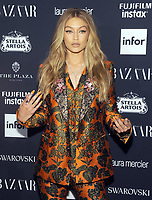 NEW YORK, NY - SEPTEMBER 08: Gigi Hadid attends the 2017 Harper's Bazaar Icons at The Plaza Hotel on September 8, 2017 in New York City. <br /> CAP/MPI/JP<br /> &copy;JP/MPI/Capital Pictures