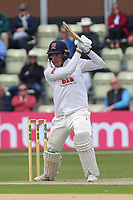 Daniel Lawrence in batting action for Essex during Worcestershire CCC vs Essex CCC, Specsavers County Championship Division 1 Cricket at Blackfinch New Road on 11th May 2018