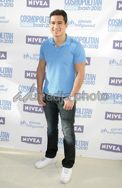 24 May 2010 - Las Vegas, Nevada - Mario Lopez.  Cosmopolitan magazine Hosts third annual Bikini Bash, presented by Nivea, at the Planet Hollywood Resort and Casino.  Photo Credit: MJT/AdMedia