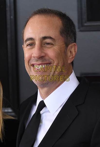 NEW YORK, NY - JANUARY 28: Jerry Seinfeld at the 60th Annual GRAMMY Awards at Madison Square Garden on January 28, 2018 in New York City. <br /> CAP/MPI/JP<br /> &copy;JP/MPI/Capital Pictures