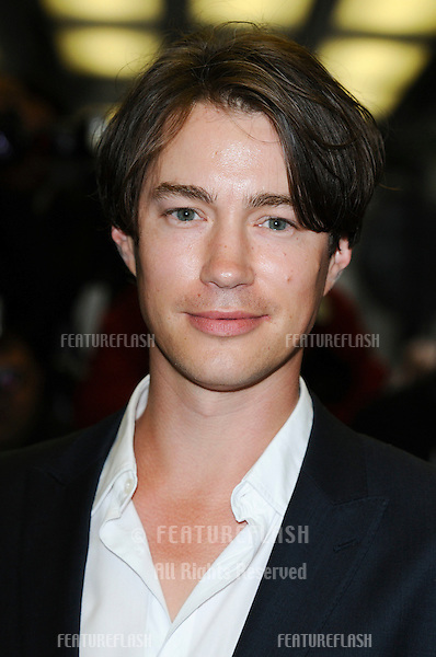 Tom Wisdom arriving for the 'Creation' premiere at the Curzon Mayfair, London. 13/09/2009. Picture By: Steve Vas / Featureflash